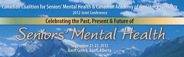 2012 CCSMH/CAGP Conference